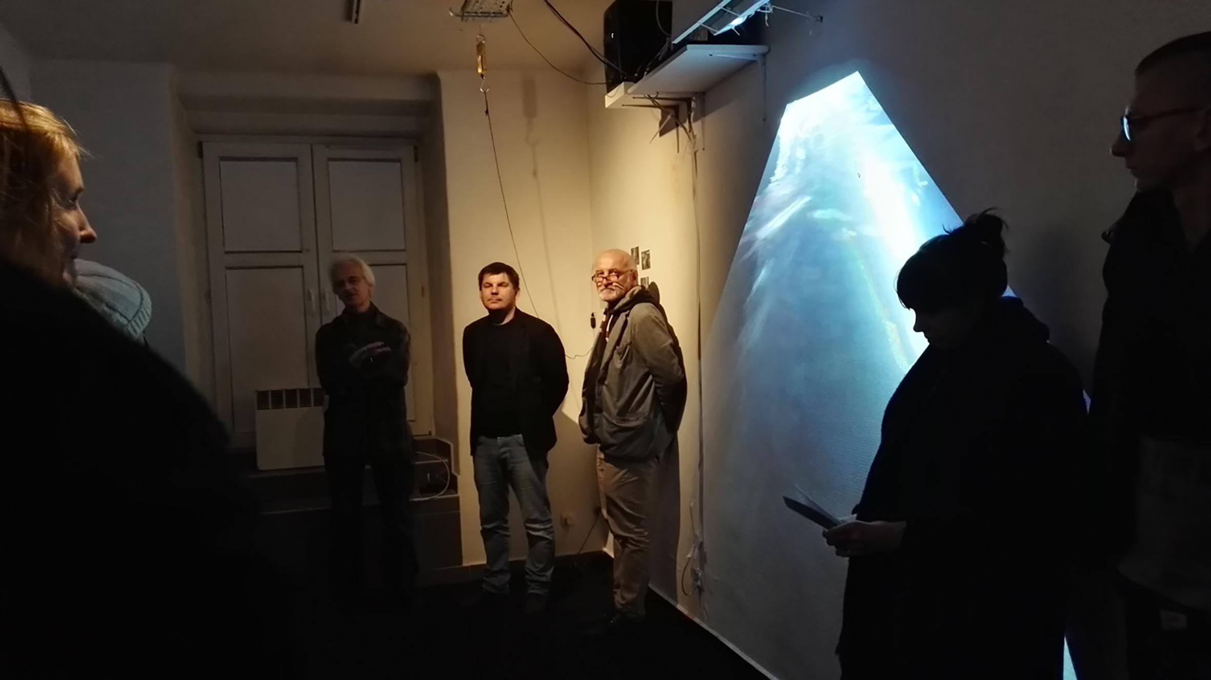 Otwarcie wystawy Równoważnia, Galeria Opcja