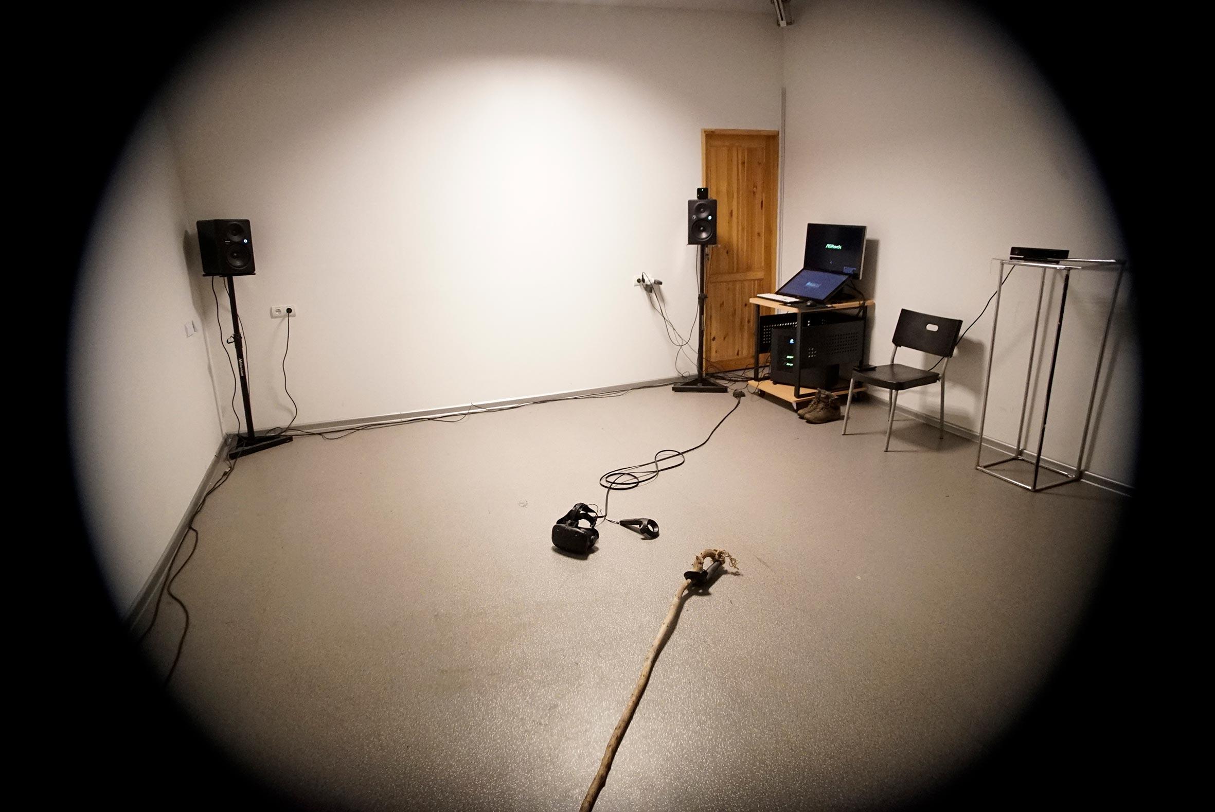 Przestrzeń instalacji