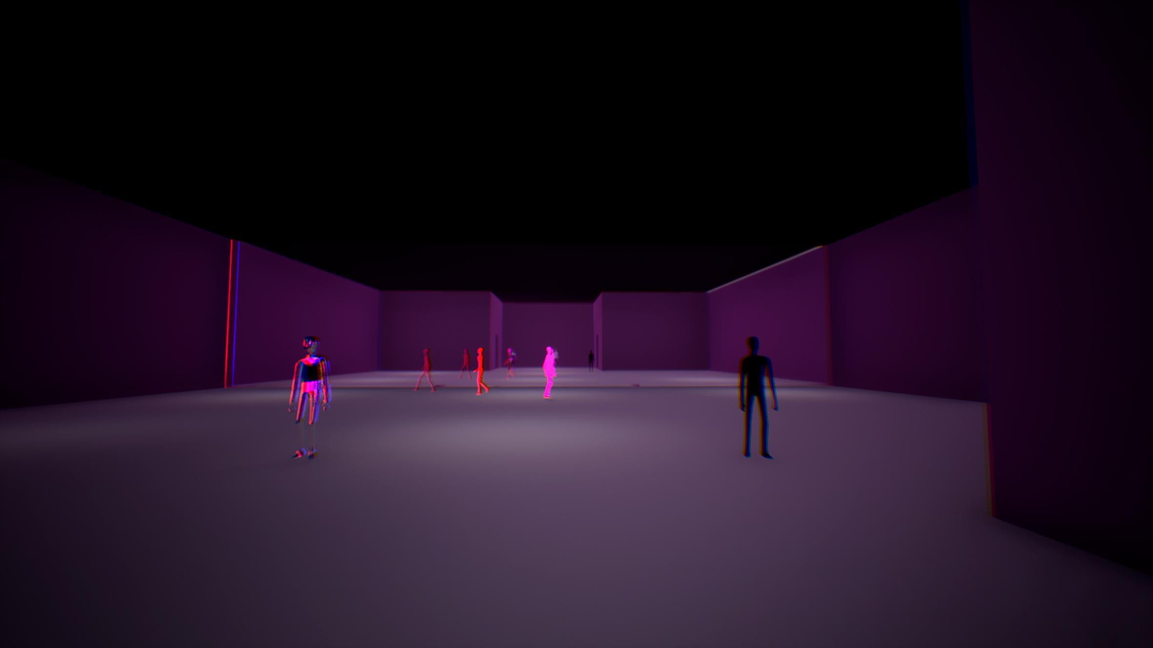 Kadry z gry wykonanej w technice animacji 3D